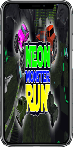 Neon Monster Run App